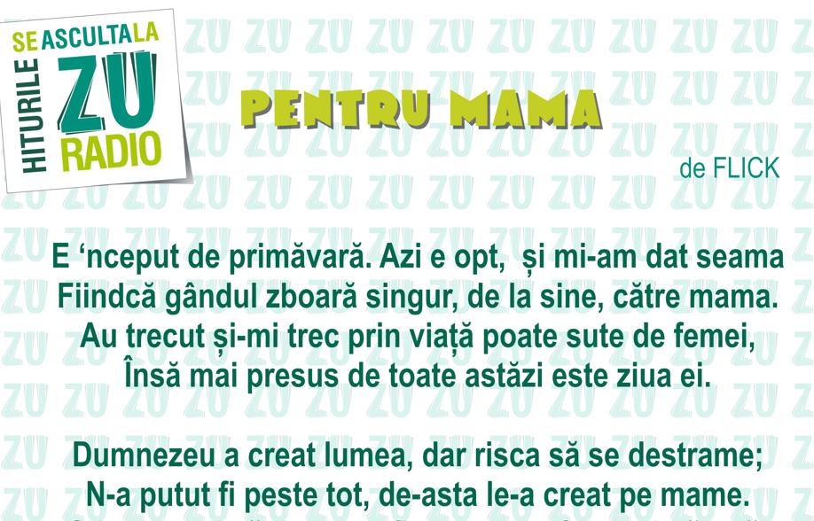 Poezie despre mama cu rima